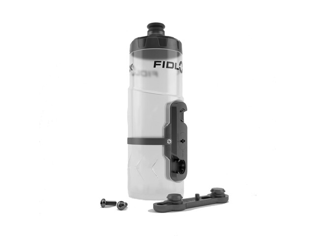Fidlock Twist Bottle 600 incl. Mount clear